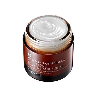 Mizon All In One Snail Repair Cream, Day and Night Face Moisturizer with Snail Mucin Extract