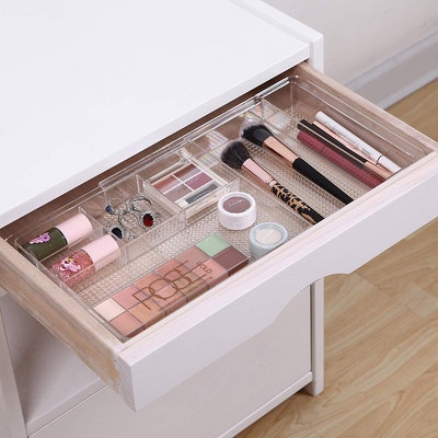 MoMA Expandable Makeup Organizer (4-Pack)