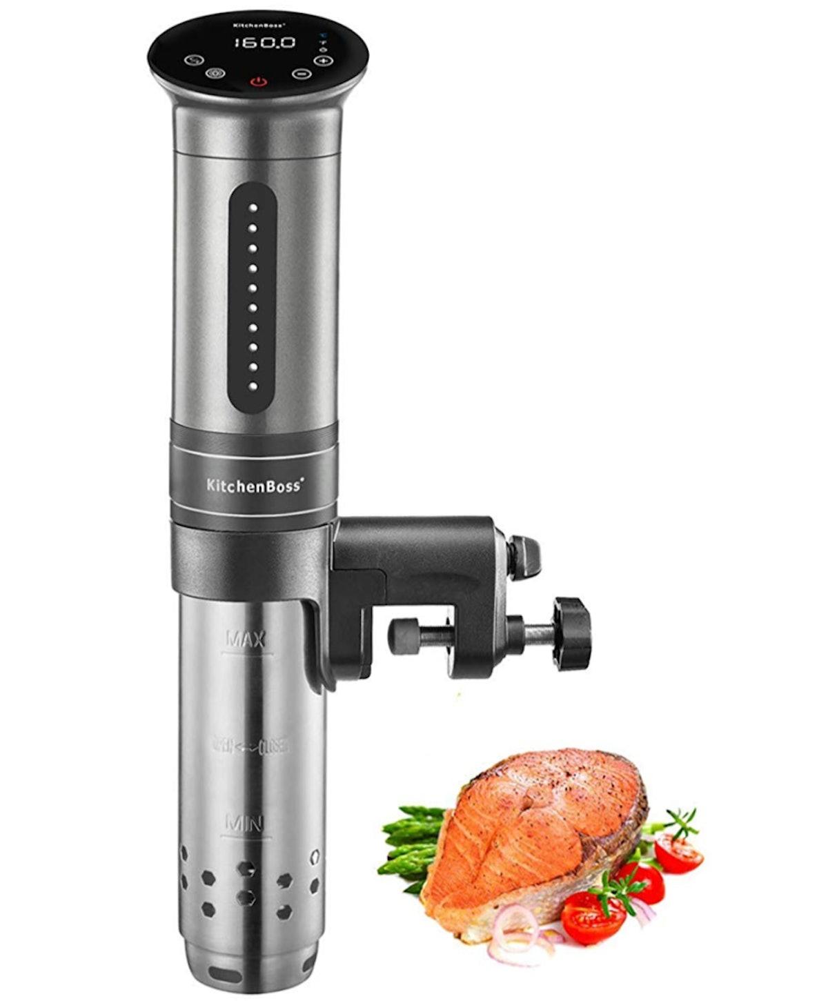 KitchenBoss 1100 Watt IPX7 Waterproof Sous Vide Cooker
