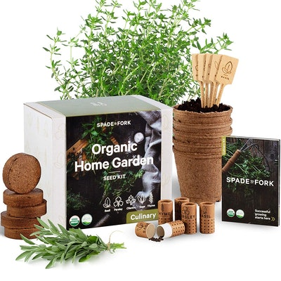 Spade To Fork Organic Home Garden Kit