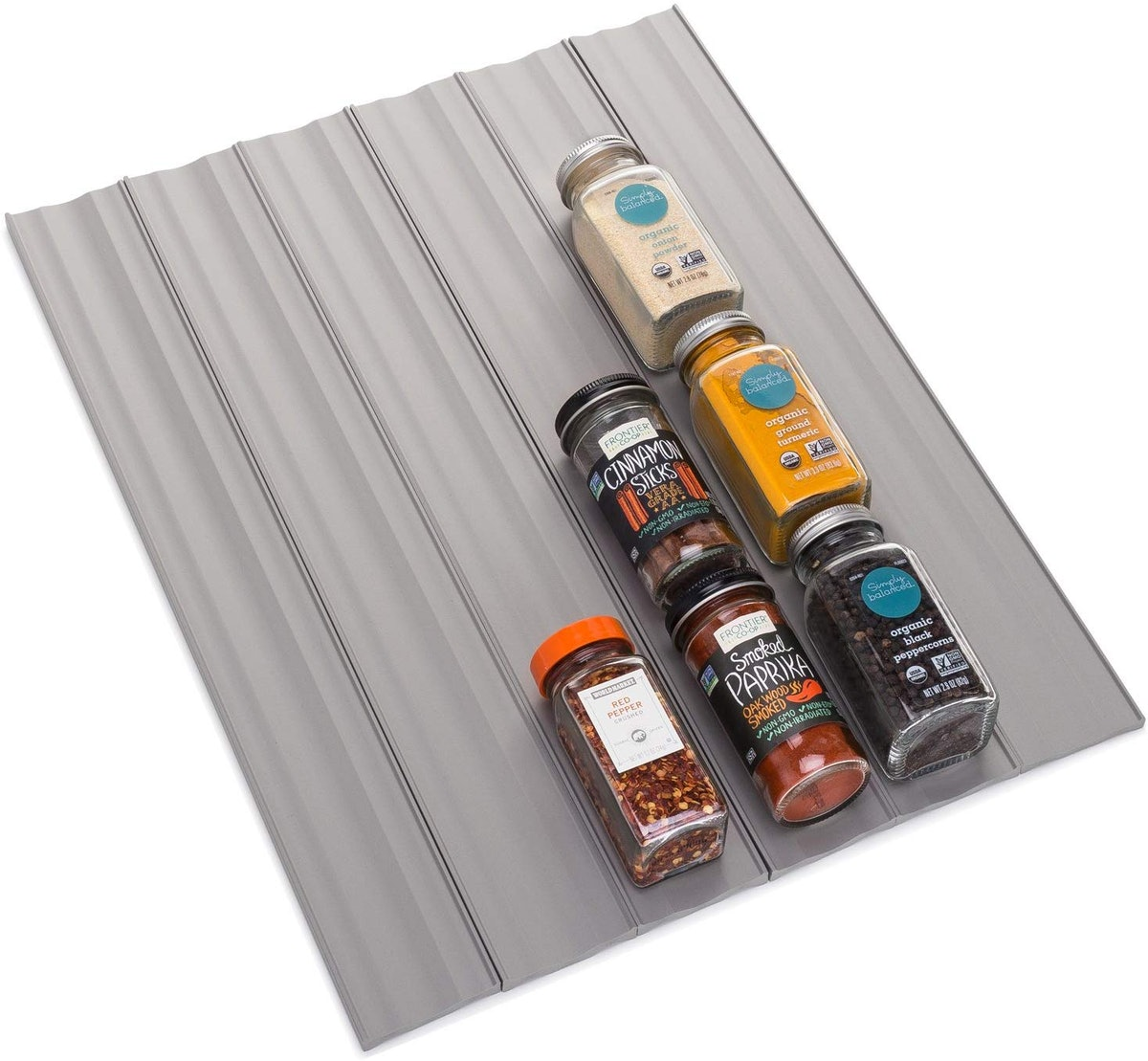 YouCopia SpiceLiner Spice Rack Drawer Organizer (Universal Fit 6-Pack )