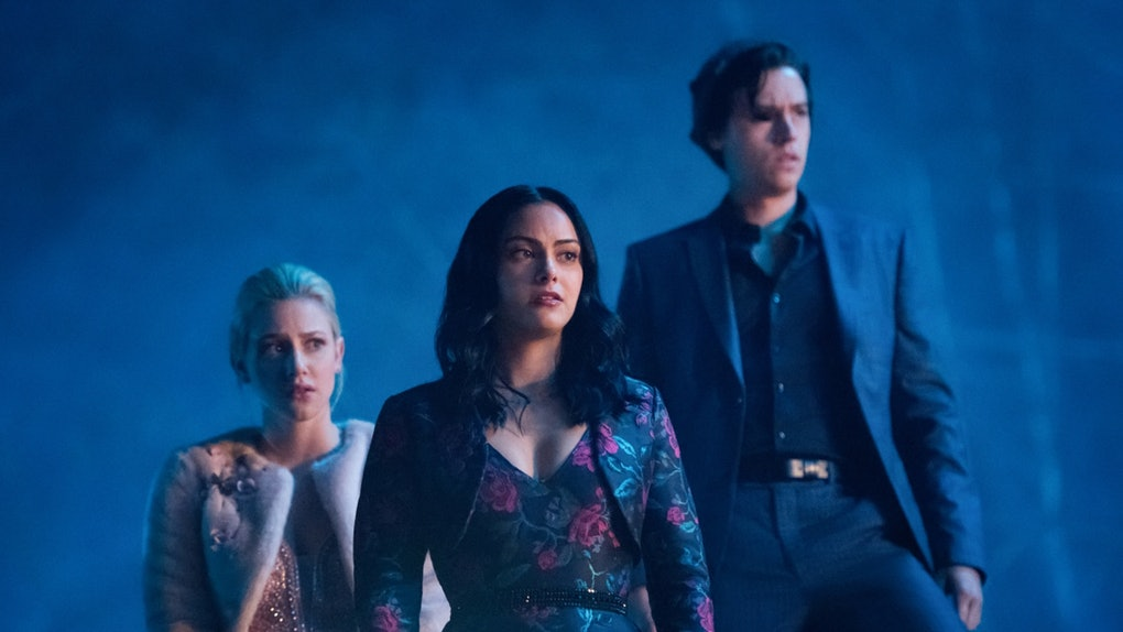 Betty, Veronica, and Jughead on 'Riverdale'