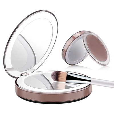 ERUW LED Compact Mirror Portable Charger