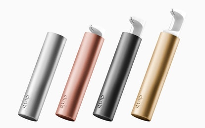 All four colorways of quip's new Refillable Floss
