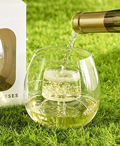 Shatterproof Aerating Wine Glasses (Set of 2)