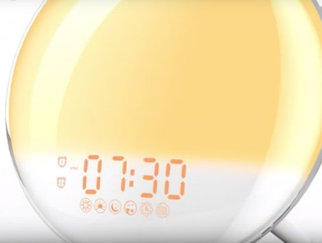 A wake up light alarm clock can help you adjust to the end of Daylight Saving Time.