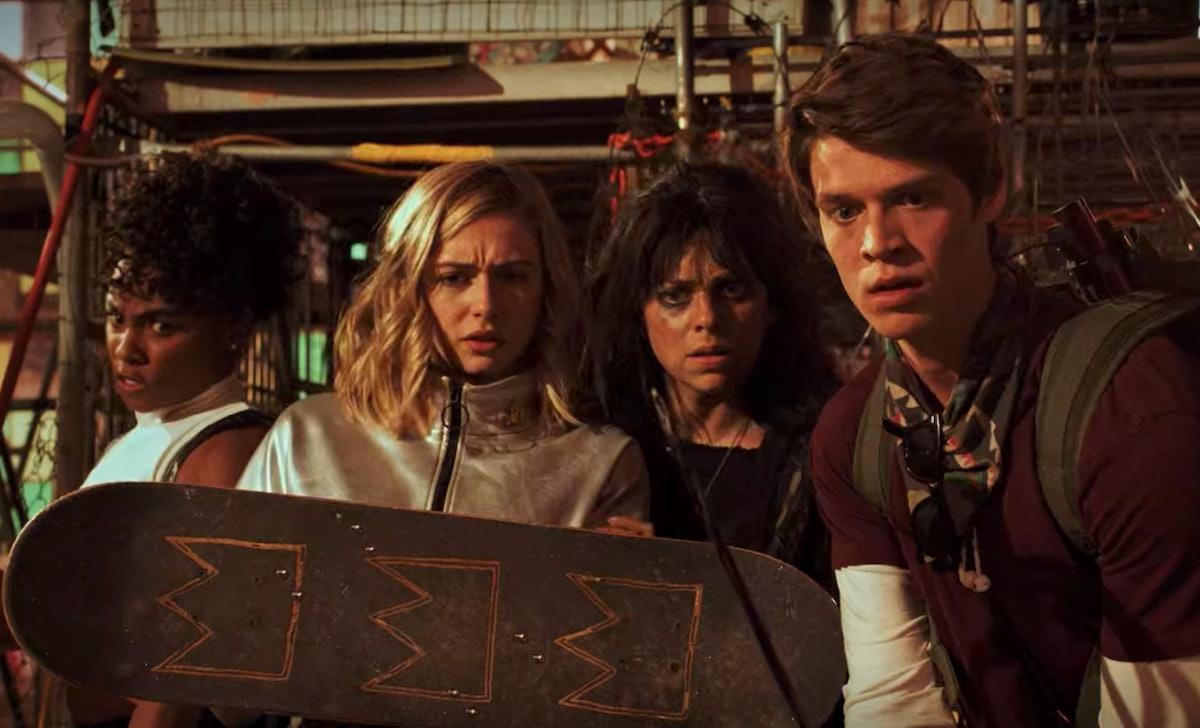 The Season 1 finale of 'Daybreak' is spawning theories about aliens in Season 2.