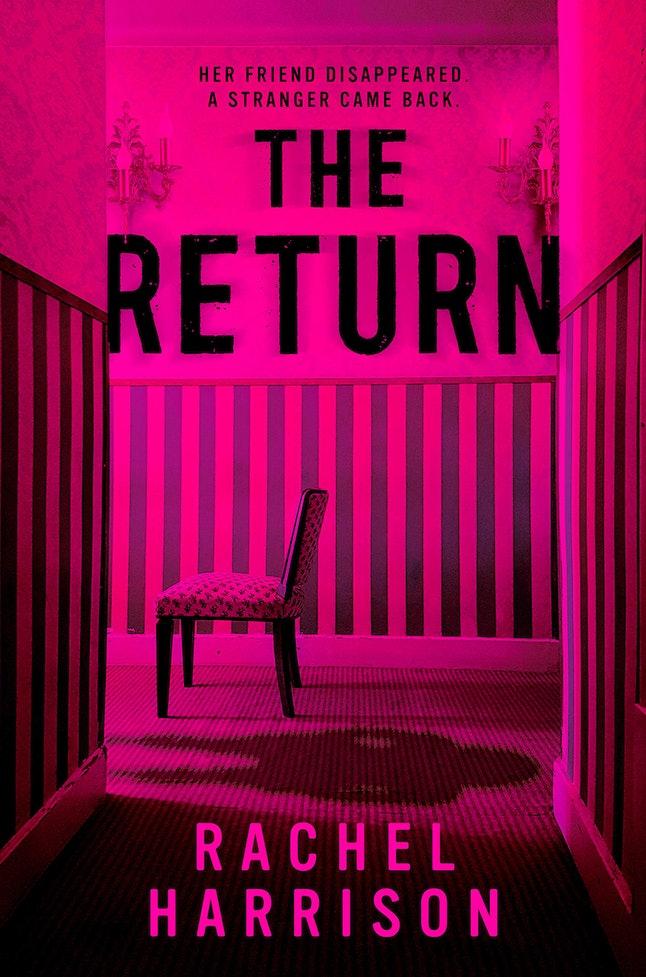 The cover for the horror novel 'The Return' by Rachel Harrison.