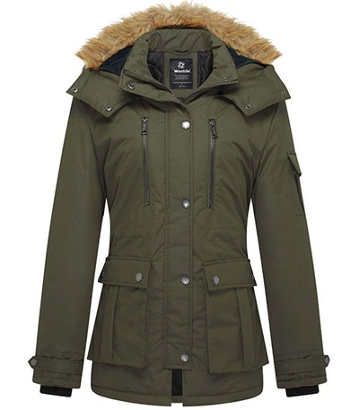 Wantdo Coat With Removable Hood