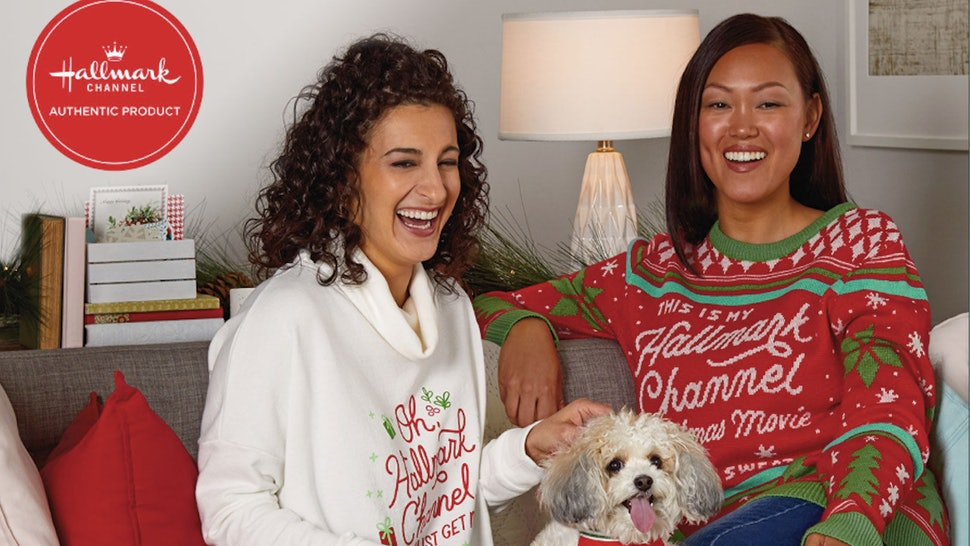 The Hallmark Channel's holiday merch line includes accessories for humans and dogs.