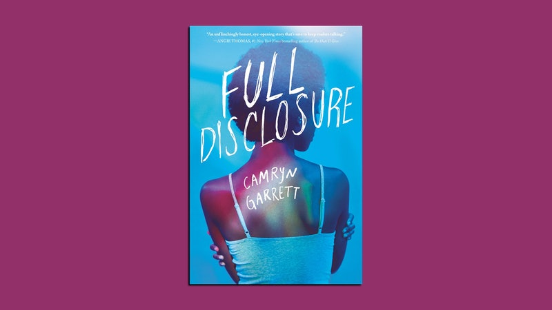 "Pictured above is the cover of ""Full Disclosure"" by Camryn Garrett, a story about an HIV-positive teen."