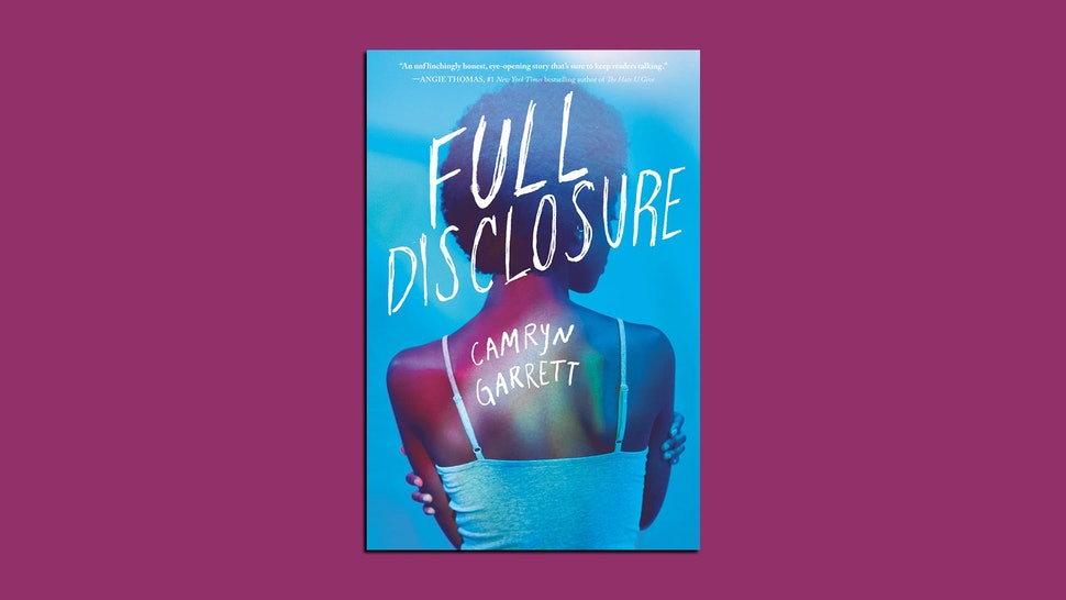 """Pictured above is the cover of """"Full Disclosure"""" by Camryn Garrett, a story about an HIV-positive teen."""