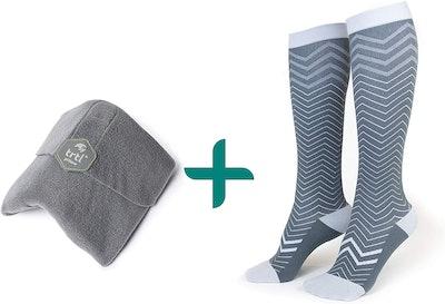trtl Pillow & Trtl Socks Bundle