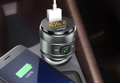 IMDEN Bluetooth FM Transmitter And Charger