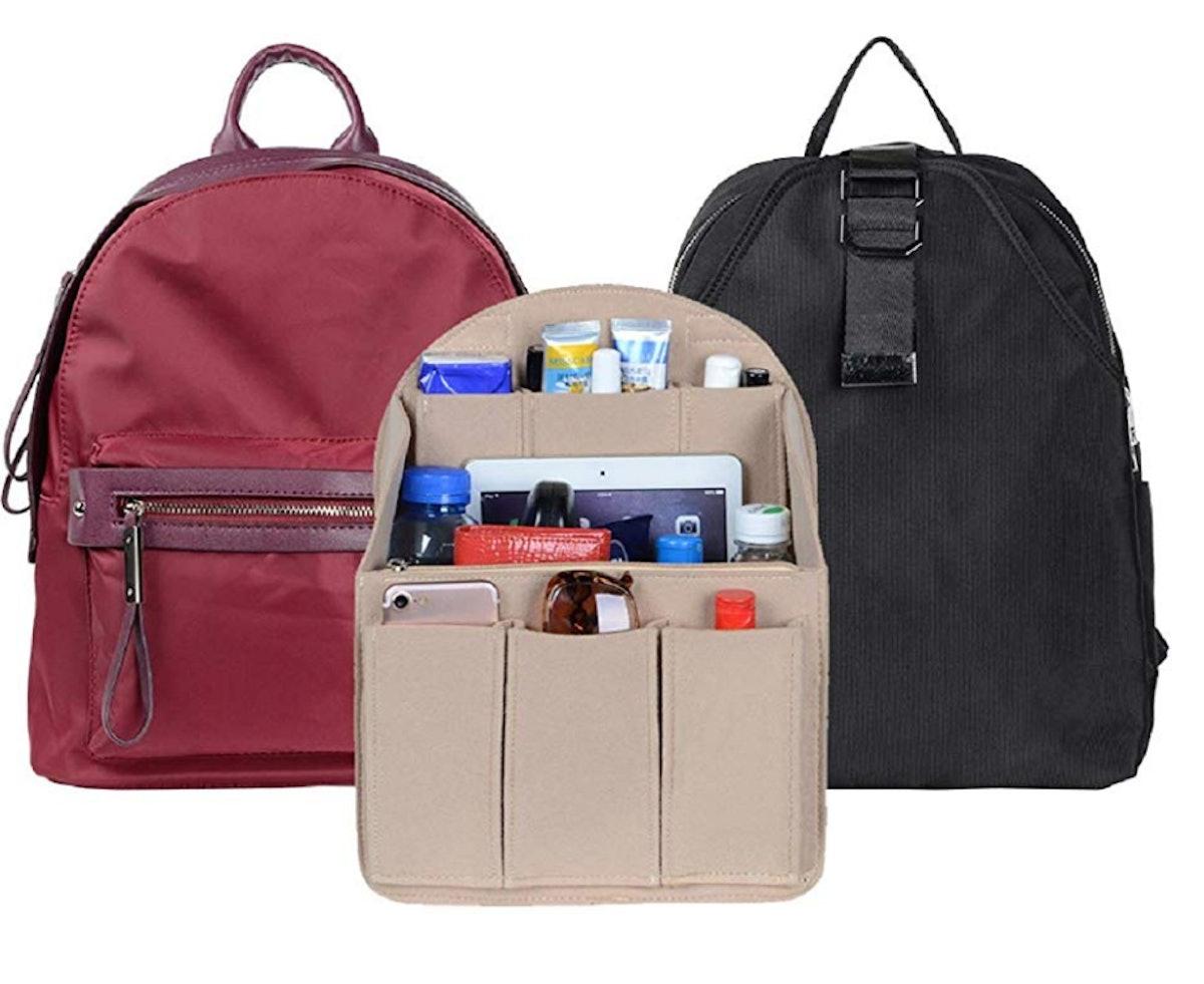 Felt Insert Backpack Organizer