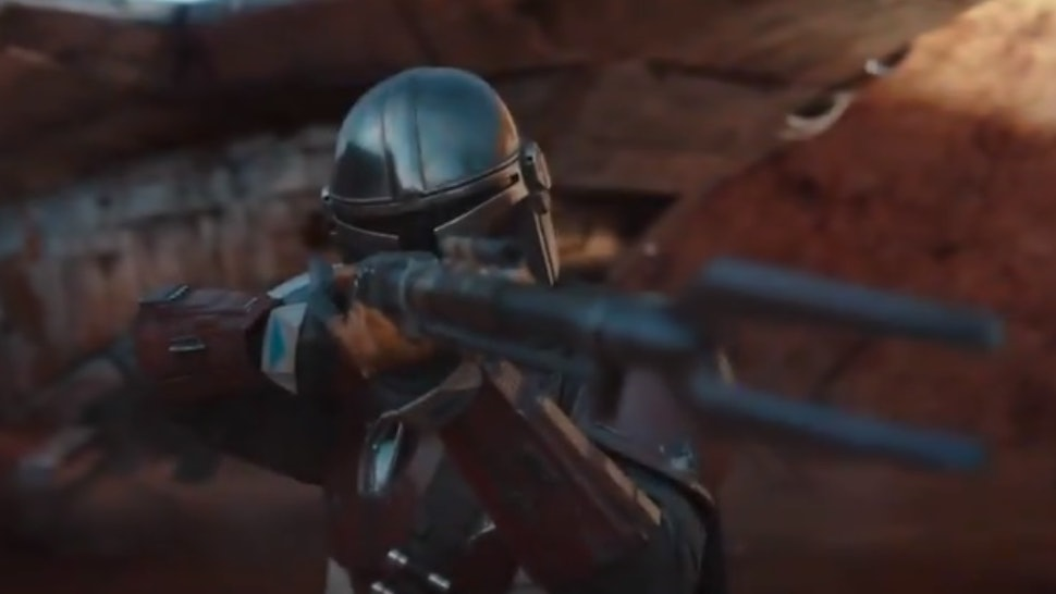 Disney+ debuts a new 'The Mandalorian' Trailer with the bounty hunter's first line of dialogue.