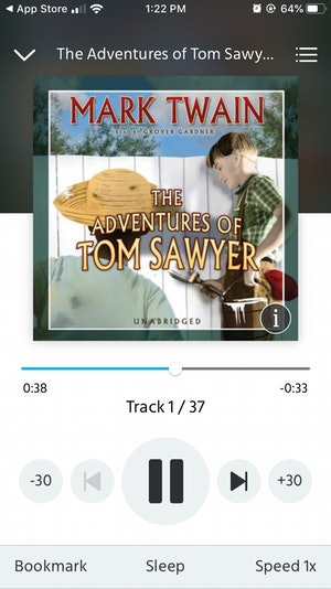 Screenshots of the Downpour app.