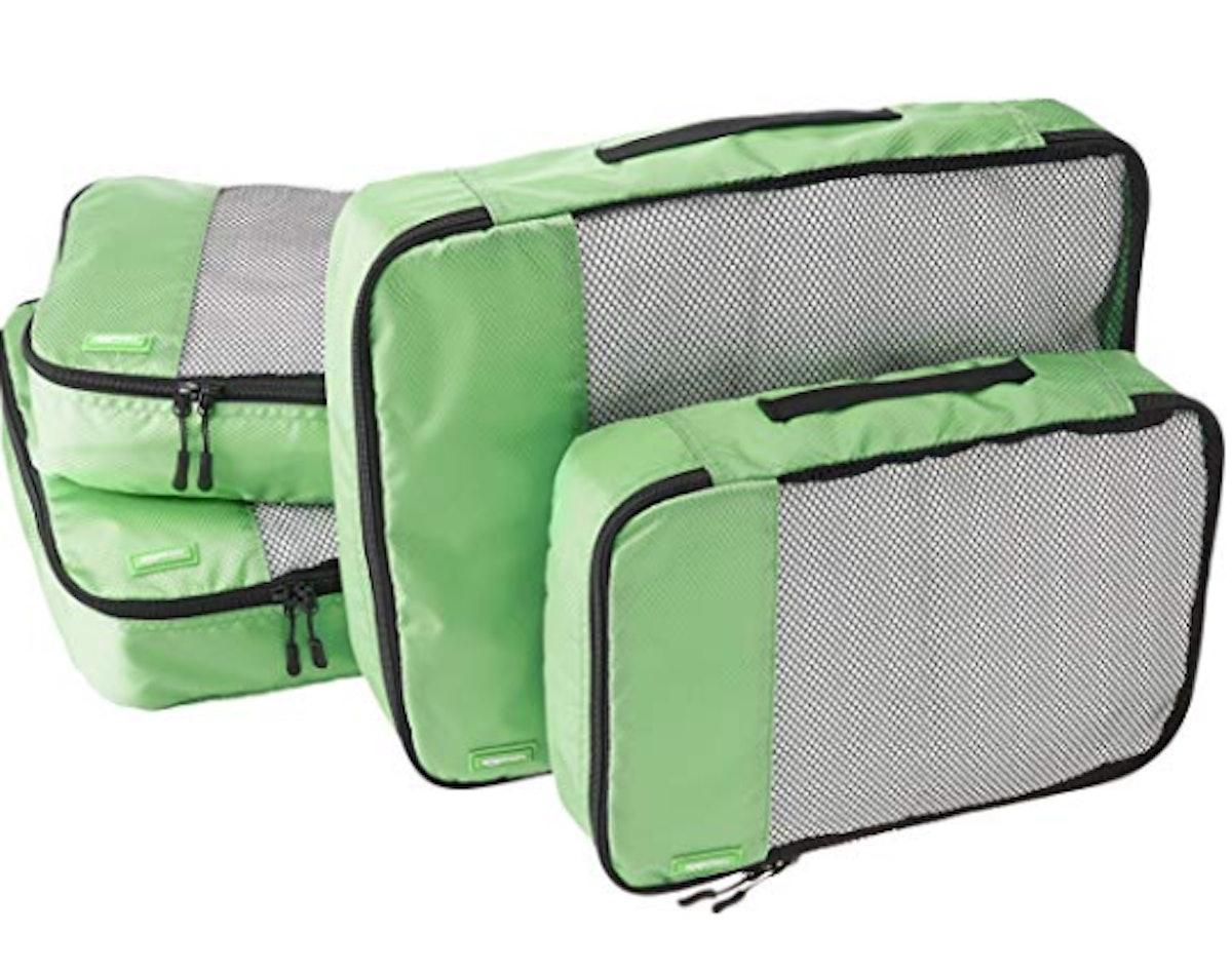 AmazonBasics Travel Packing Cubes (4-Piece)