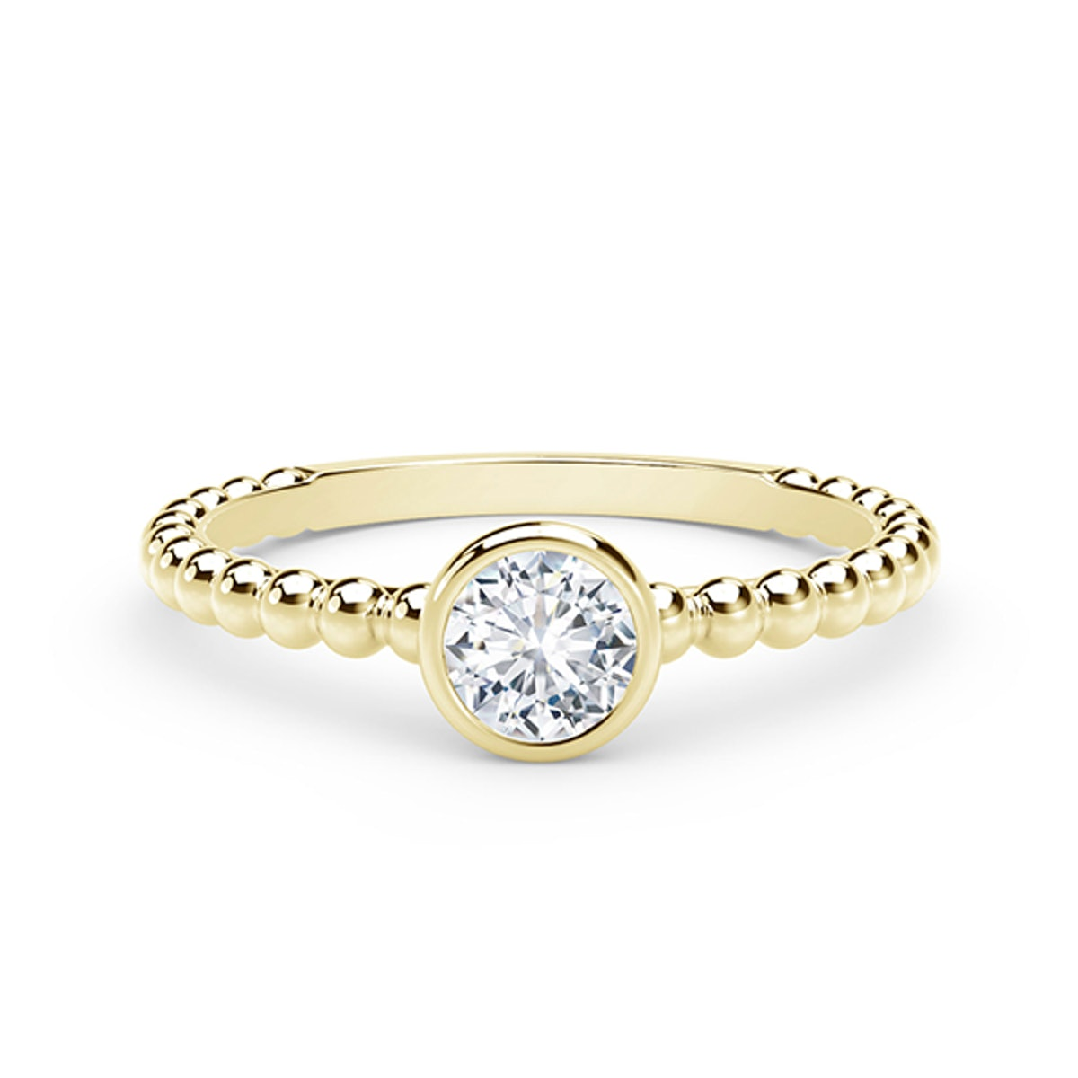The Forevermark Tribute™ Collection Diamond Ring in 18K Yellow Gold