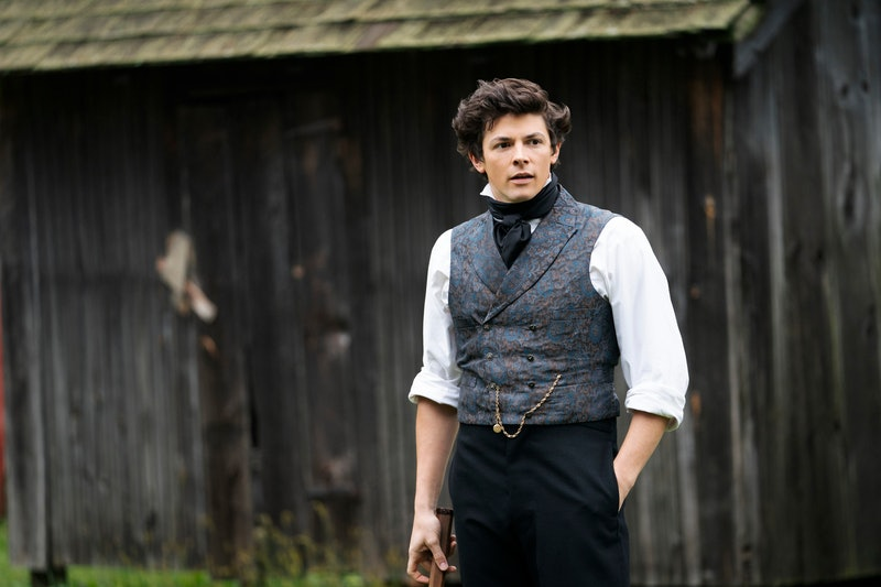 Adrian Enscoe as Austin Dickinson standing in 19th century clothes