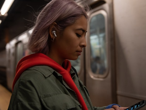 Apple's AirPods Pro are noise-cancelling.