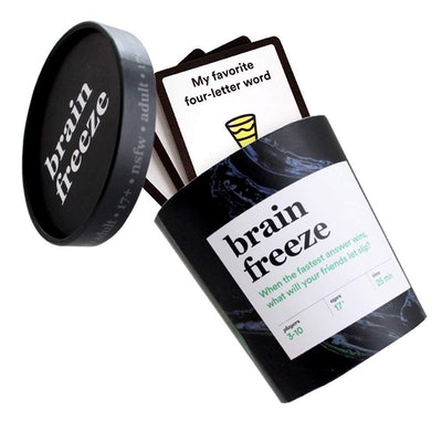Brain Freeze Adult Card Game
