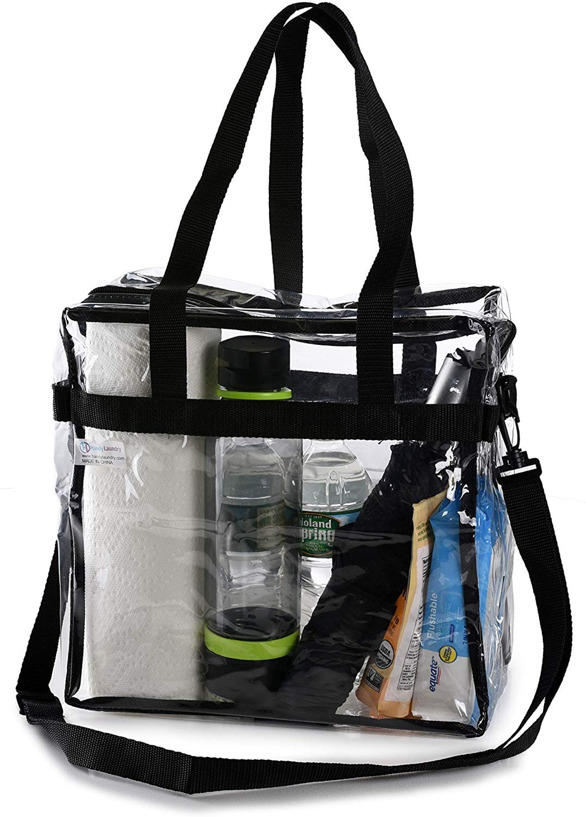 Handy Laundry Clear Tote Bag