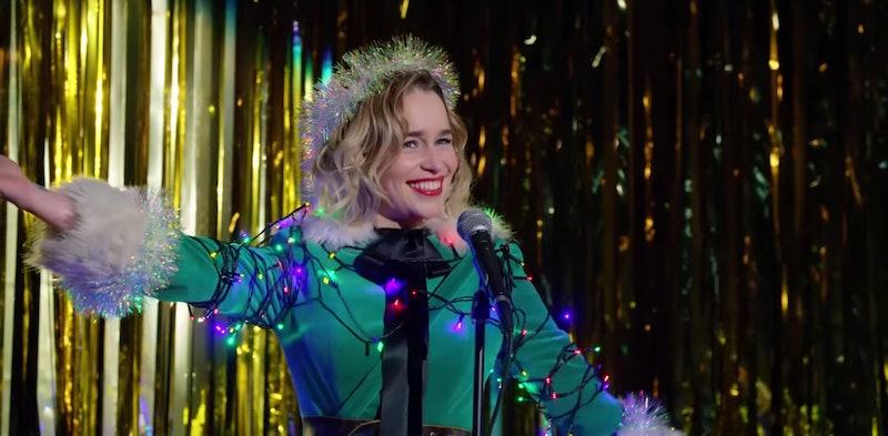 Emilia Clarke as Kate in Last Christmas