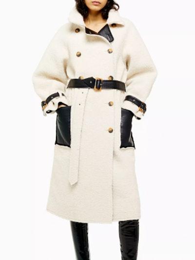 Cream Reversible Coat