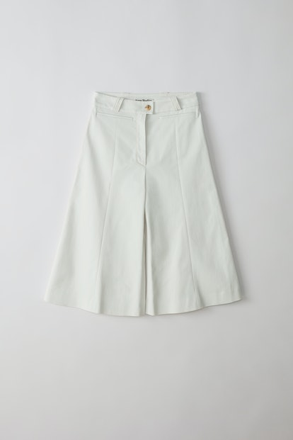 Bermuda Trousers Dirty White