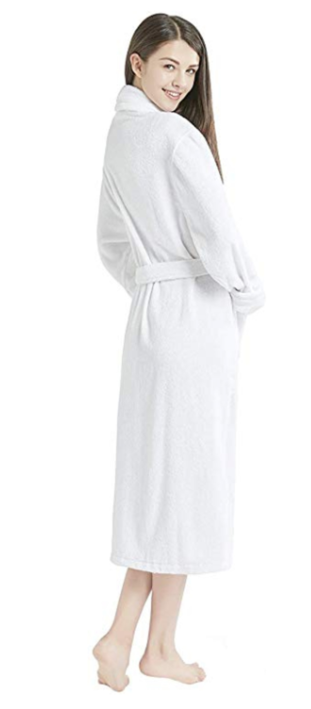 Ink+Ivy Terry Cloth Robes for Women, 100% Cotton Bath Robe Women's Towel Robe