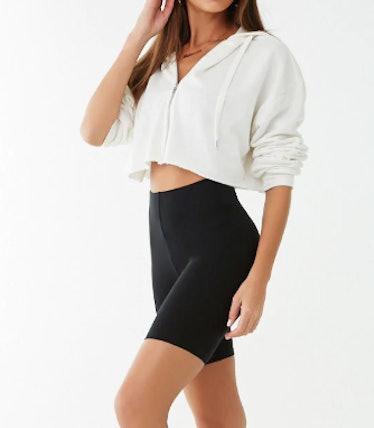 Regular 9-Inch Knit Biker Shorts