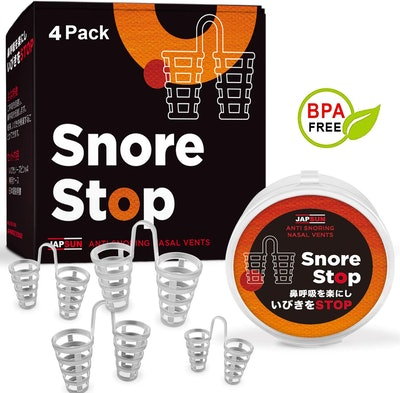 JAPSUN Snore Stop Nose Vents (4-Pack)