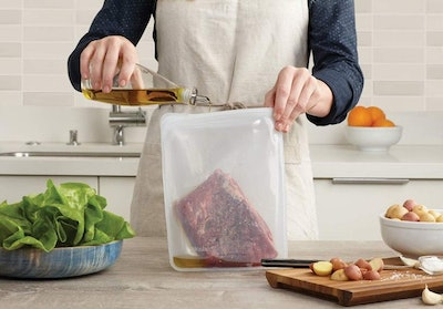 Stasher Large Silicon Reusable Food Storage Bag