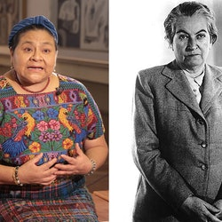 Rigoberta Menchú Tum & Gabriela Mistral, two of the Latinx activists you should have learned about in history class.