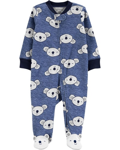 Koala 2-Way Zip Cotton Sleep & Play