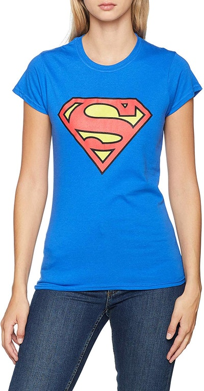 DC Comics Women's Superman Logo T-Shirt