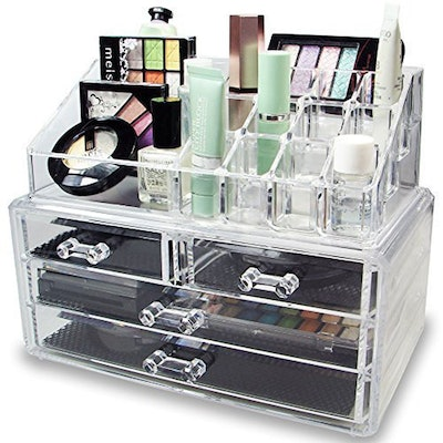 Ikee Design Jewelry and Cosmetics Storage Organizer