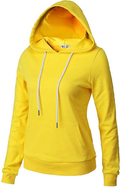 H2H Womens Casual Slim Fit Hoodie Long Sleeve of Various Colors & Styles