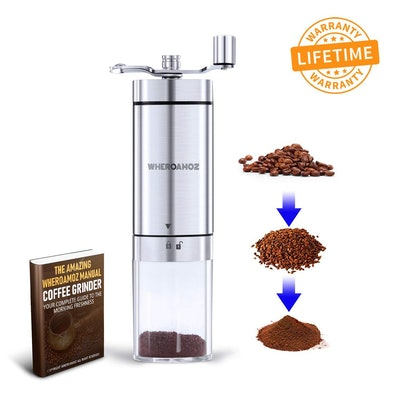 Wheroamoz Manual Coffee Grinder