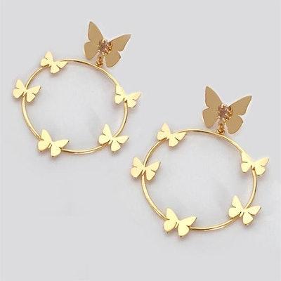 Lorenza Butterfly Earrings