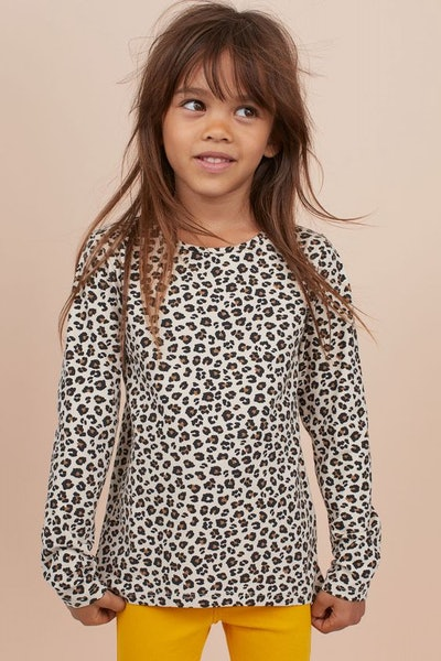 Cotton Top with Printed Design
