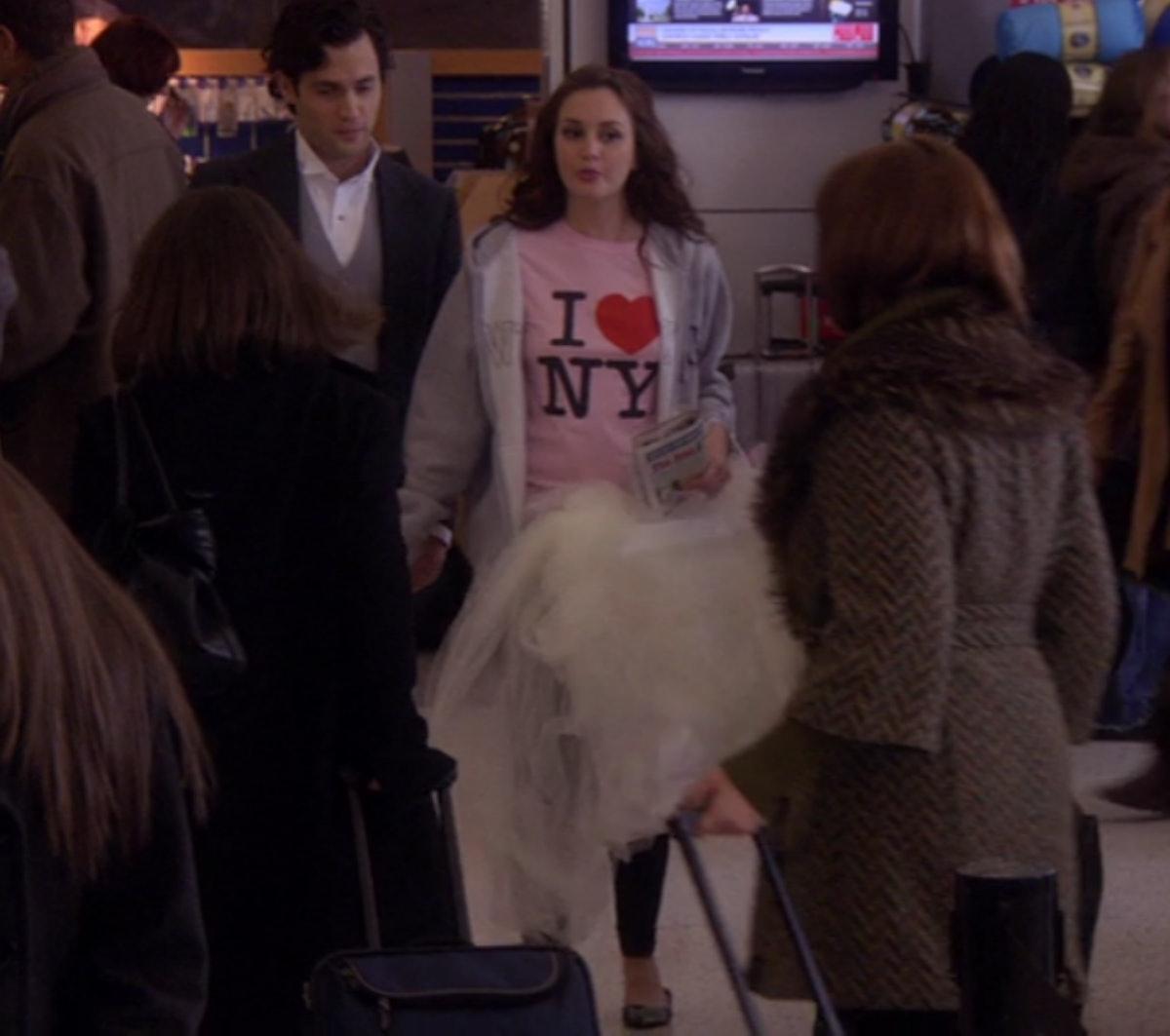 Dan and Blair in 'Gossip Girl'