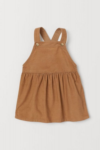 Corduroy Bib Overall Dress