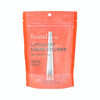 Found Active Longwear Liquid Eyeliner, 99% natural, 0.09 fl. Oz