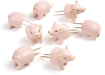 Charcoal Companion Pig Corn Holders (4 Pairs)