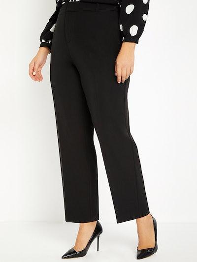 Straight Leg Venice Crepe Trouser