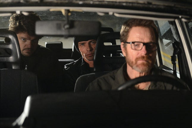 Bryan Cranston as Walter White in the series finale of Breaking Bad.