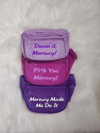 Funny Astrology Mercury Retrograde Custom Fanny Pack