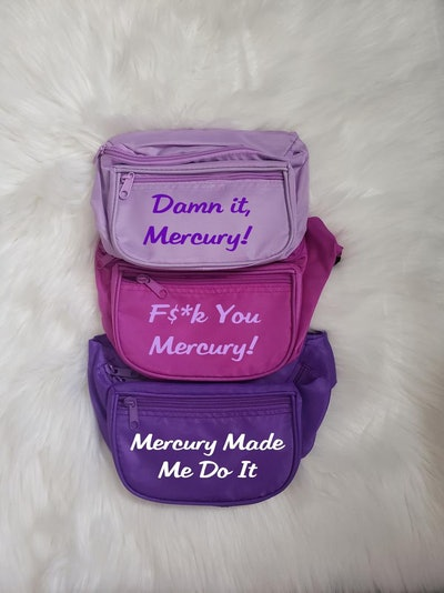 Funny Astrology Mercury Retrograde Custom Fanny Pack
